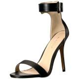 Polipiel 13 cm Pleaser AMUSE-10 sandalias de tacón alto