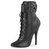 Polipiel 15 cm DOMINA-1023 botines con stiletto altos (copy)