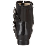 Polipiel 4 cm BROGUE-06 Winklepicker Botinha de Hombres Goticas