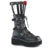 Polipiel 5 cm DEMONIA EMILY-355 botas plataforma góticos