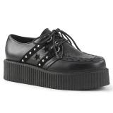 Polipiel 5 cm V-CREEPER-538 Zapatos de Creepers Hombres Plataforma