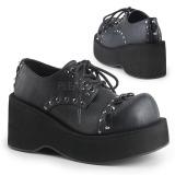 Polipiel 8 cm DANK-110 lolita zapatos góticos calzados plataforma
