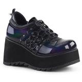 Polipiel 8 cm SCENE-31 lolita zapatos góticos calzados plataforma