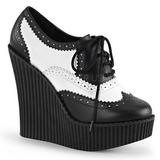 Polipiel CREEPER-307 zapatos de cunas creepers mujer