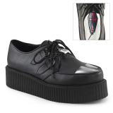 Polipiel V-CREEPER-515 Zapatos de Creepers Hombres Plataforma