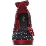 Puntos Blancos 12 cm SECRET-12 Zapato Mujer de Salón Altos