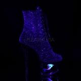 Purpura purpurina 18 cm MOON-1020MER botines de pole dance