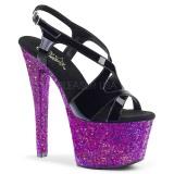Purpura purpurina 18 cm Pleaser SKY-330LG Zapatos con tacones pole dance