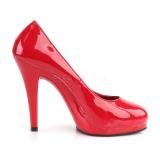 Rojo 11,5 cm FLAIR-480 Zapatos de tacón altos mujer