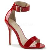 Rojo 13 cm Pleaser AMUSE-10 sandalias de tacón alto