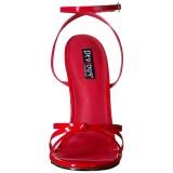 Rojo 15 cm DOMINA-108 zapatos fetiche con tacones altos