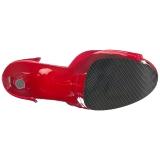 Rojo Acrilico 20 cm FLAMINGO-889LN Sandalias Femininas Plataforma