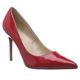 Rojo Charol 10 cm CLASSIQUE-20 Zapatos de Salón para Hombres