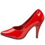 Rojo Charol 10 cm DREAM-420 Zapatos de Salón para Hombres
