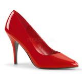 Rojo Charol 10 cm VANITY-420 zapatos de salón puntiagudos