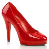 Rojo Charol 11,5 cm FLAIR-480 zapatos de salón para hombre