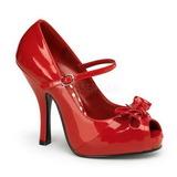 Rojo Charol 12 cm CUTIEPIE-08 Plataforma Zapato de Sal�n