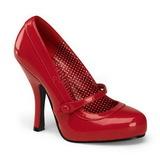 Rojo Charol 12 cm retro vintage CUTIEPIE-02 zapatos mary jane con plataforma escondida