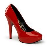 Rojo Charol 13,5 cm HARLOW-01 Plataforma Zapato Salón