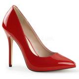 Rojo Charol 13 cm AMUSE-20 Zapatos de Salón para Hombres