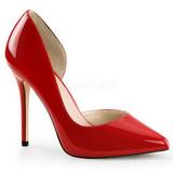 Rojo Charol 13 cm AMUSE-22 Zapatos de Salón para Hombres