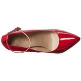 Rojo Charol 13 cm SEXY-23 Zapato Salón Clasico para Mujer