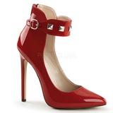 Rojo Charol 13 cm SEXY-31 Zapato Salón Clasico para Mujer