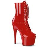 Rojo Charol 18 cm ADORE-1020 botines mujer con plataforma