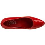 Rojo Charol 5 cm FAB-420W Zapatos de Salón para Hombres