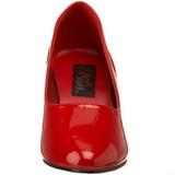Rojo Charol 8 cm DIVINE-420W Zapatos de Salón para Hombres
