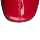 Rojo Lacado 7,5 cm Funtasma GOGO-306 Botas Media Mujer