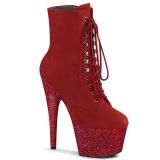Rojo glitter 18 cm ADORE-1020FSMG exotic botines de pole dance