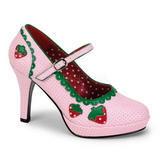 Rosa 11 cm CONTESSA-58 Zapatos de tacón altos mujer
