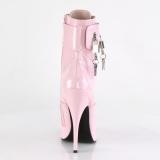 Rosa 15 cm DOMINA-1023 botines con stiletto altos