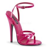 Rosa 15 cm Devious DOMINA-108 sandalias de tacón alto