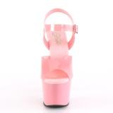 Rosa 18 cm ADORE-708N Zapatos Tacón Aguja Plataforma