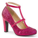 Rosa Brillo 10 cm QUEEN-01 zapatos de salón tallas grandes