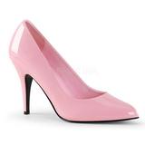 Rosa Charol 10 cm VANITY-420 zapatos de salón puntiagudos