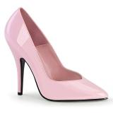 Rosa Charol 13 cm SEDUCE-420V zapatos de salón puntiagudos