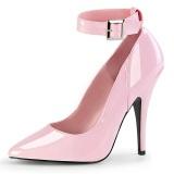 Rosa Charol 13 cm SEDUCE-431 Zapato de Stiletto para Hombres