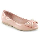 Rosa IVY-09 bailarinas zapatos planos de mujer con perlas