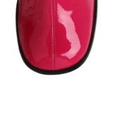 Rosa Lacado 7,5 cm Funtasma GOGO-300 Botas Media Mujer