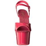 Rosa Neon 18 cm Pleaser SKY-309UV Plataforma Tacones de Aguja