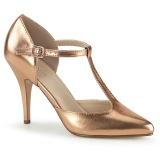 Rosa Oro 10,5 cm VANITY-415 Zapatos de Salón para Hombres