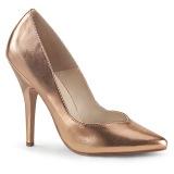 Rosa Oro Mate 13 cm SEDUCE-420V Zapatos de Salón para Hombres