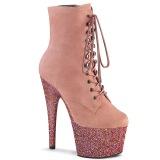 Rosa glitter 18 cm ADORE-1020FSMG exotic botines de pole dance