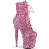 Rosa glitter 20 cm FLAMINGO-1020GWR exotic botines de pole dance
