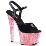 Rosa purpurina 18 cm Pleaser SKY-309LG Zapatos con tacones pole dance