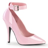 Tacones rosas 13 cm SEDUCE-431 Zapato de salón correa de tobillo