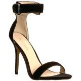 Terciopelo 13 cm AMUSE-10 Zapatos para travestis